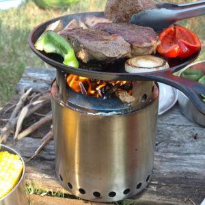 solo wood camp stove