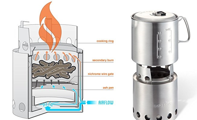 Solo Small Wood Stove